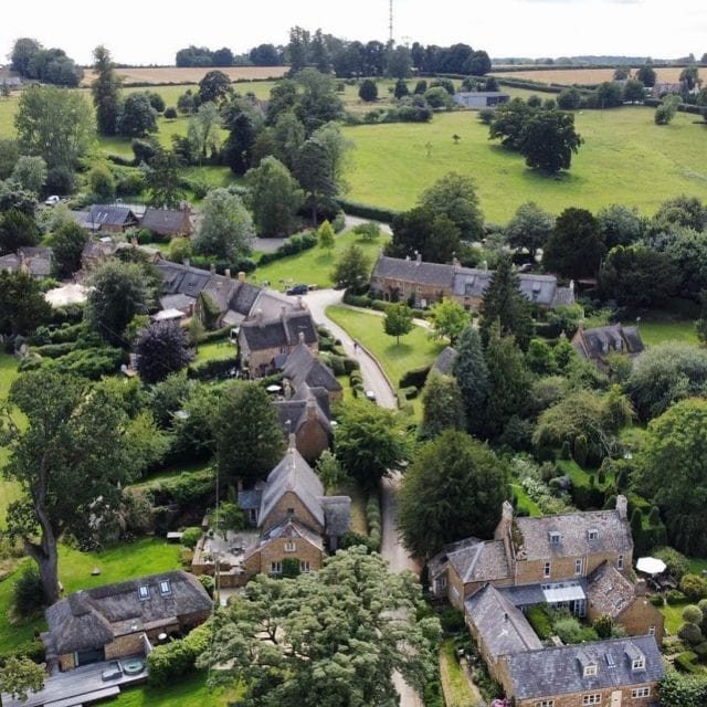Photo of the Week 📸  We haven't posted one of these for a while but we loved these drone photos by @glennthehud  #photooftheweek #greattew #village #dronephotography