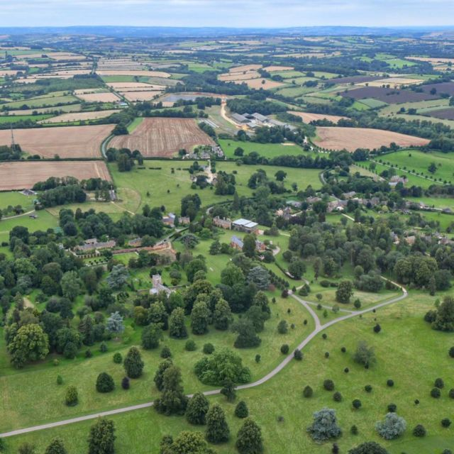 A birds eye view over the Estate  📸@manonfosb  #birdseyeview #aerialphotography #greattew #greattewestate